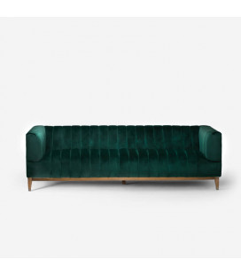 ACI-2360000-01E - Astoria Couch - Velvet Emerald Green -
