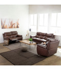 Christopher Recliner Set - Cinnamon