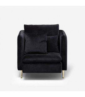 Sherman Armchair - Black