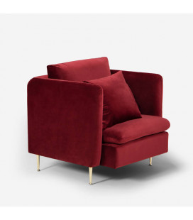 Sherman Armchair - Wine