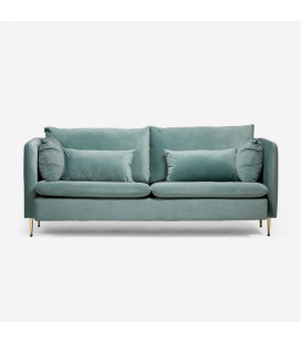 Sherman Couch - Misty Teal
