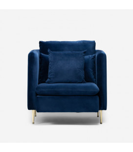 Sherman Armchair - Royal Blue