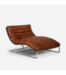 Morello Chaise - Large - Vintage Brown -