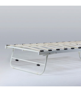 Valentina Steel Day Bed (BOTTOM) -White