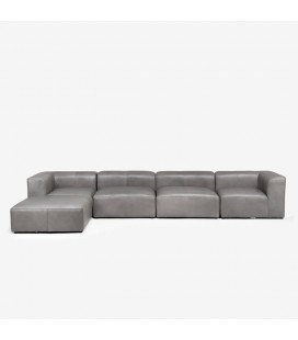 Burbank Modular Leather Couch