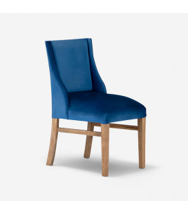 lindsay wingback dining chair - petrol blue | Dining Chair | Dining | Chairs | Cielo -