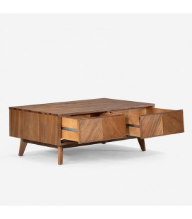 Carlisle Coffee Table & Carlisle Side Table