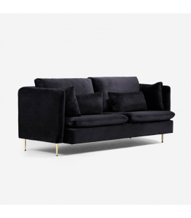 Sherman Lounge Suite - Black
