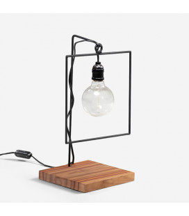 Axle Desk Lamp - Square