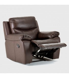 2 x Christopher Single Leather Recliners