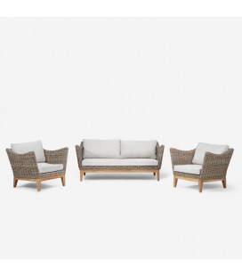 Brisbane Patio Lounge Set -