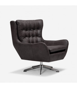 Lincoln Armchair - Charcoal