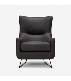 Halford Armchair - Aged Brown