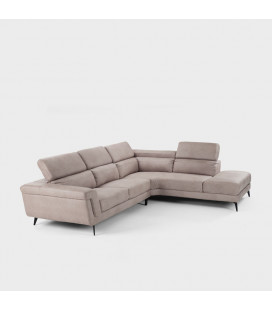 Damian Corner Couch - Driftwood - Left Chaise | Fabric Couches | Couches | Living | Cielo -