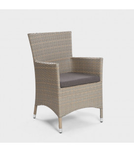 Nevada Patio Dining Chair - Stone