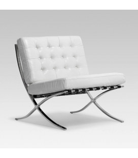 Replica Barcelona Chair - White | Armchairs for Sale | Armchairs | Lounge | Cielo -