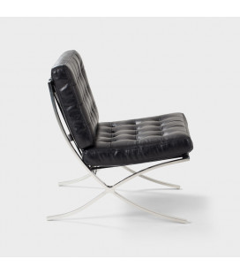 Replica Barcelona Chair - Black | Armchairs for Sale -