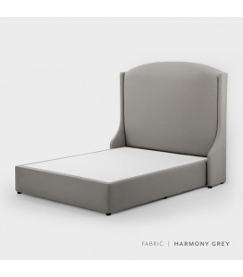 Audrey bed - Double | Harmony Grey