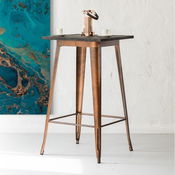 Evan Cocktail Table - Copper -
