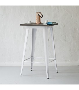 Evan Cocktail Table - White -