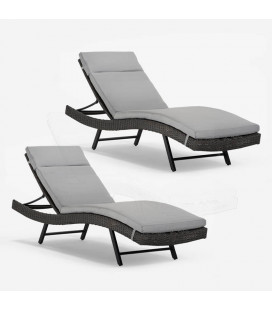 Atlantic Pool Lounger - Set of 2 | Sun & Pool Loungers | Loungers | Patio | Outdoor -