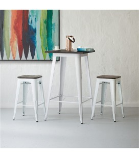 ARK-T001-WH - Evan Cocktail Table - White -