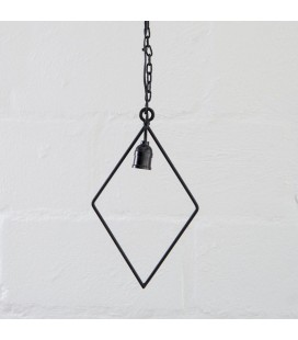 Axle Diamond Hanging Lamp