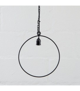 Axle Round Hanging Lamp