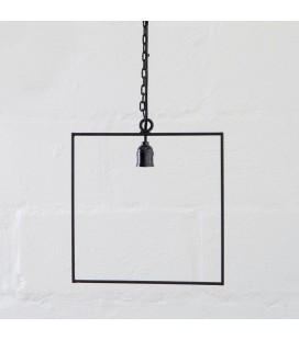 Axle Square Hanging Lamp -