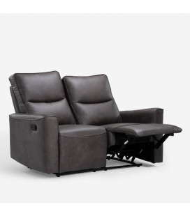 Collin 2 Seater Recliner - Mercury