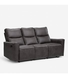 Collin 3 Seater Recliner - Mercury