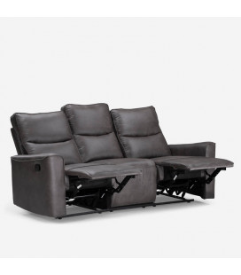 Collin 3 Seater Recliner - Mercury | Recliners | Living | Cielo -