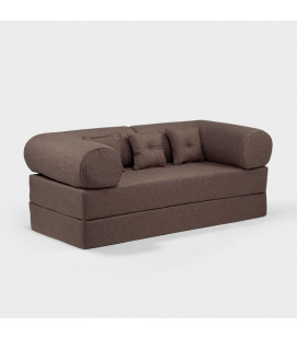 Romeo Sleeper Couch - Brown -