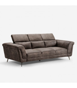 Laurence Three Seater - Fossil | Couches | Fabric Couches | Living | Cielo -