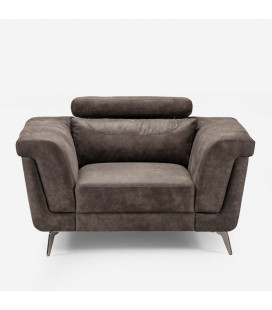 Laurence One Seater - Fossil | Couches | Fabric Couches | Living | Cielo -