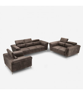 Laurence Lounge Suite - Fossil -