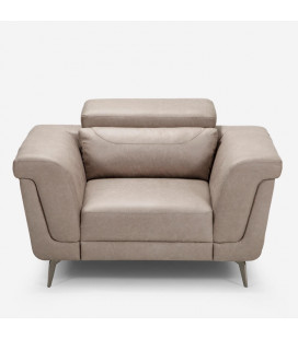 Laurence One Seater - Sandstone | Armchairs | Fabric Couches | Couches | Living | Cielo -