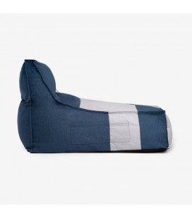 Slate Bean Bag - Blue & White | Bean Bags for Sale| Bean Bags | Living | Cielo -
