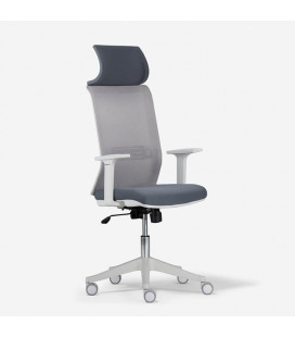Clay Office Chair - White