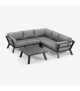 Marsala Corner Patio Lounge Set | Patio Sets | Outdoor Furniture | Cielo -