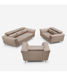 Laurence Lounge Suite - Sandstone | Lounge Suite | Lounge | Cielo -