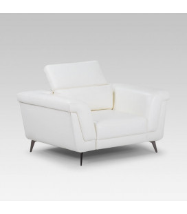 Laurence Armchair - White | Couches | Fabric Couches | Living | Cielo -