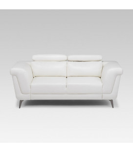 Laurence Two Seater - White