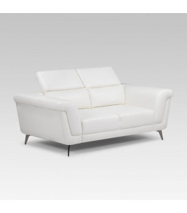 Laurence Two Seater - White | Fabric Couch | Living | Cielo -