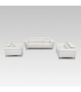 Laurence Lounge Suite - White | Lounge Set | Living | Cielo -