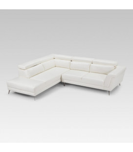 Laurence Corner Couch - White | Couches | Corner Couch | Living | Cielo -