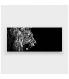 Lion Roars Canvas - Large
