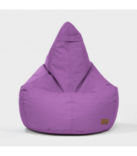 Linc Pearshape Bean Bag - Purple -