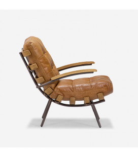 Fidel Armchair - Brown| Armchairs | Living | Cielo -