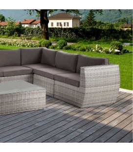 Monaco Patio Lounge set - Titanium